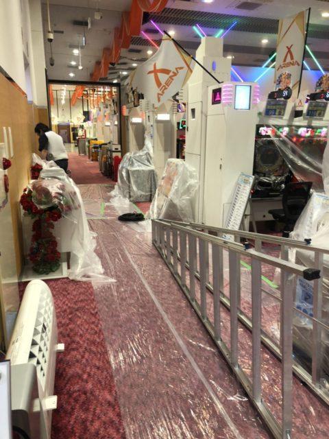 千葉県柏市店舗様エアコン分解洗浄工事
