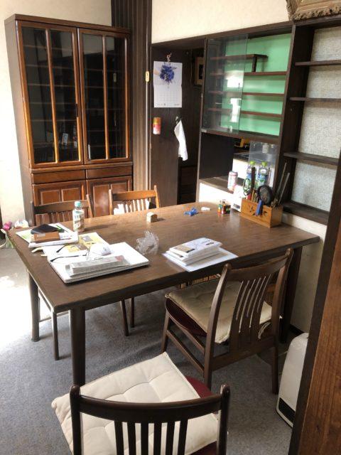 神奈川県川崎市住宅フローリング貼り替え&間仕切り解体工事