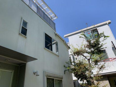 東京都品川区住宅塗装工事