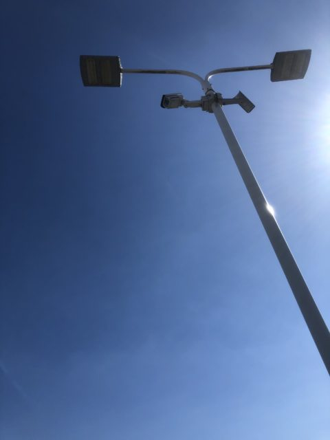 千葉県柏市店舗駐車場電灯安定器交換工事