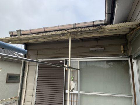 東京都調布市住宅波板交換工事