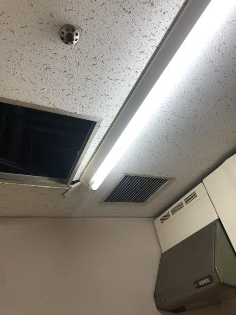 東京都北区オフィス天井貼り替え工事