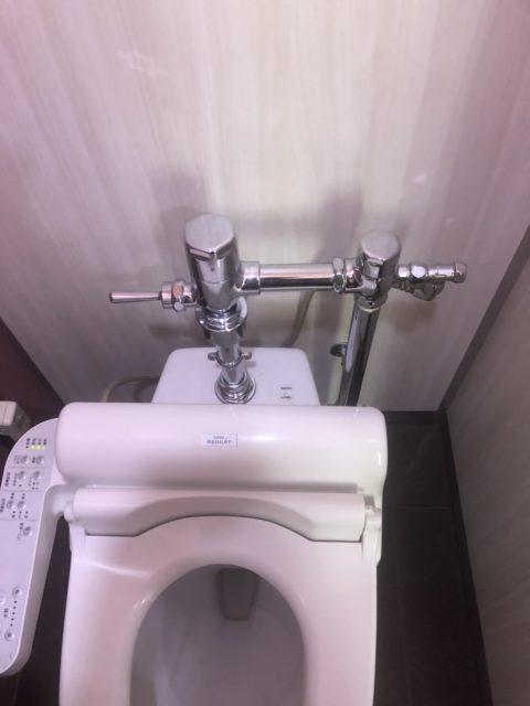 千葉県柏市店舗個室トイレ修繕工事