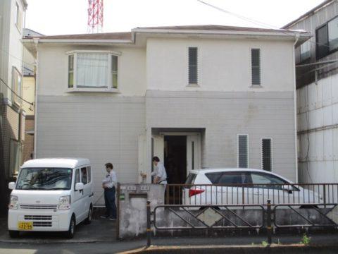東京都調布市住宅塗装工事